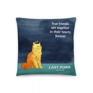 Product image Last Purr Basic Pillow 10
