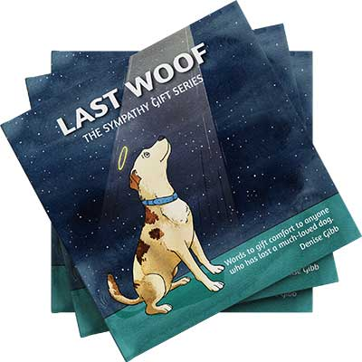 Front cover of the book Last Woof by Denise Gibb