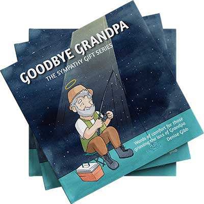 Front cover of the book Goodbye Grandpa by Denise Gibb