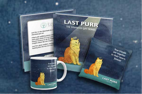 Last Purr sympathy gift combination