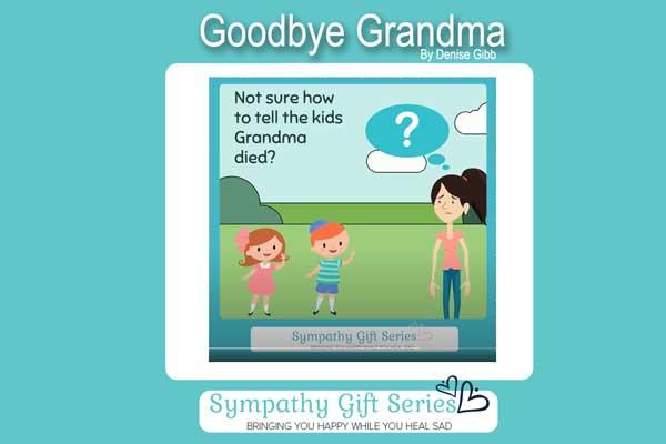 How to tell children grandma died blog image
