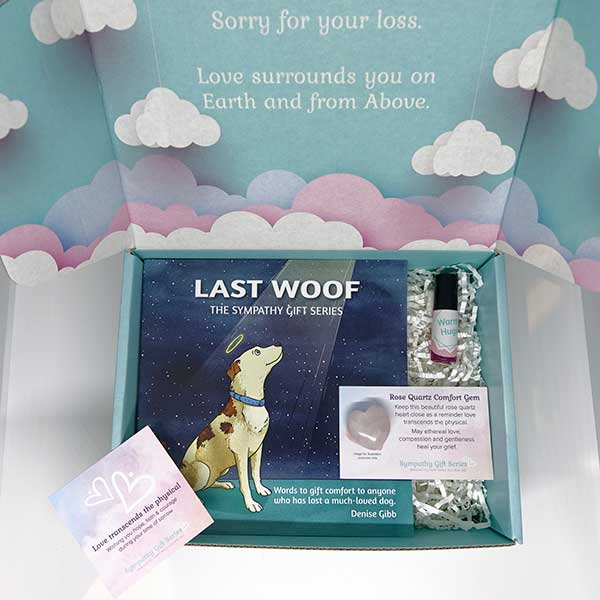 Dog Loss Grief Gift Set