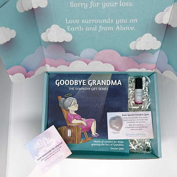 Loss of Grandma Grief Gift Set