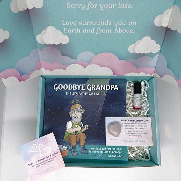Loss of Grandpa Grief Gift Set