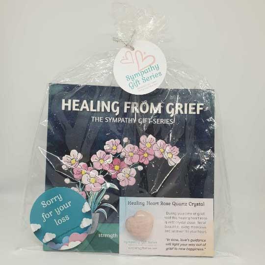 Healing Loss - Rose Quartz Heart Crystal